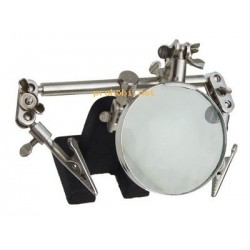 MAGNIFYING GLASS WITH HOLDER