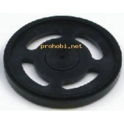 Servo hub wheel (Futaba)-black