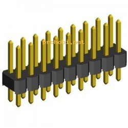 PIN letvica 2x40 (2.54 mm)