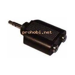 Adapter 3,5 (M)-2x3,5 (F)...