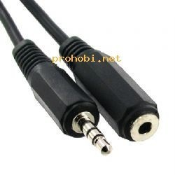 Audio podaljšek 3,5M-3,5Ž 1,8m