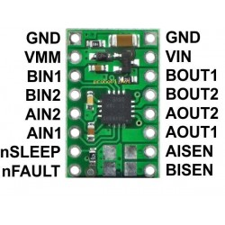 Dual Motor Driver Carrier -...