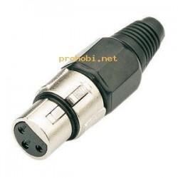 Vtikac XLR-zenski-kabel...