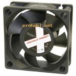 Ventilator 60x60x15-12V