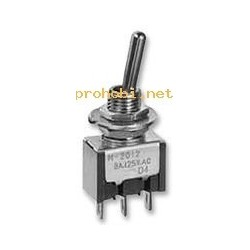 TOGGLE SWITCH 1-1 2p
