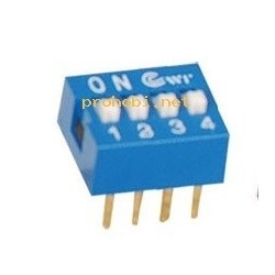 DIP SWITCH 4X