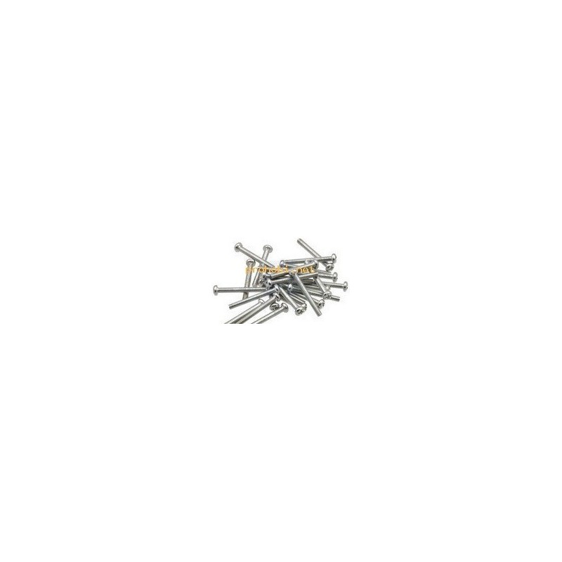 Machine Screw: M2, 25 mm Length, Philips (25-pack)