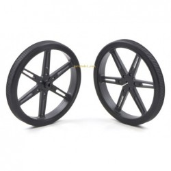 Pololu Wheel 80x10mm Pair