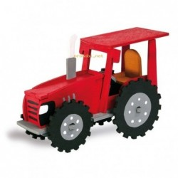 WOOD CONSTRUCTION KIT-TRACTOR