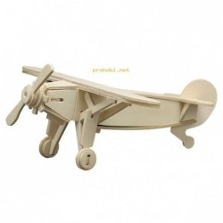 WOOD CONSTRUCTION KIT-AIRPLANE