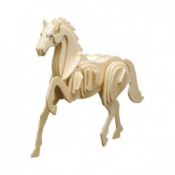 WOOD CONSTRUCTION KIT-HORSE