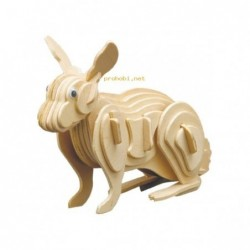 WOOD CONSTRUCTION KIT-RABBIT