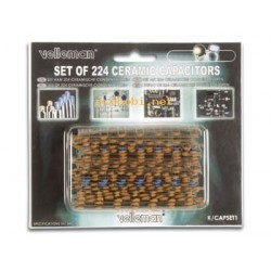 CAPACITOR SET (10pF-220nF)