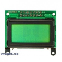DISPLAY LCD 8x2 (paralell/črn)