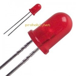 LED 5mm-red-standard
