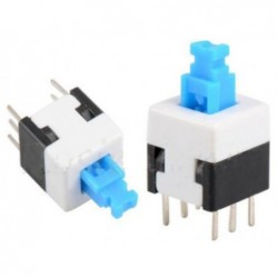 Push button switch 8x8mm 6 pin