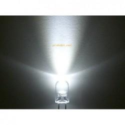 LED 5mm-BELA-VISOKOSVETILNA...