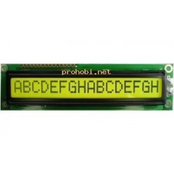 DISPLAY LCD 1x16 with...